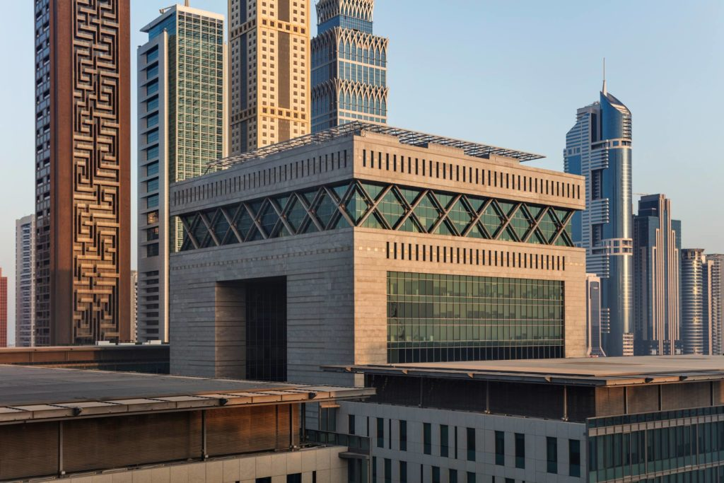 international fintech expand dubai difc building