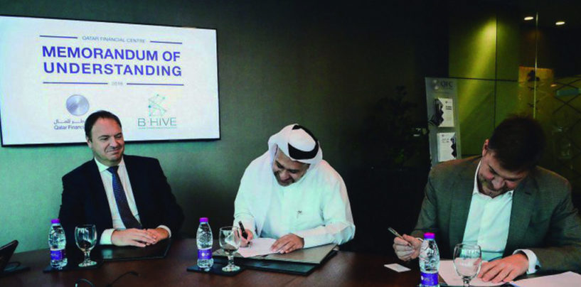 Qatar Financial Centre Partnering Up with B-Hive to Develop Fintech Industry in Qatar