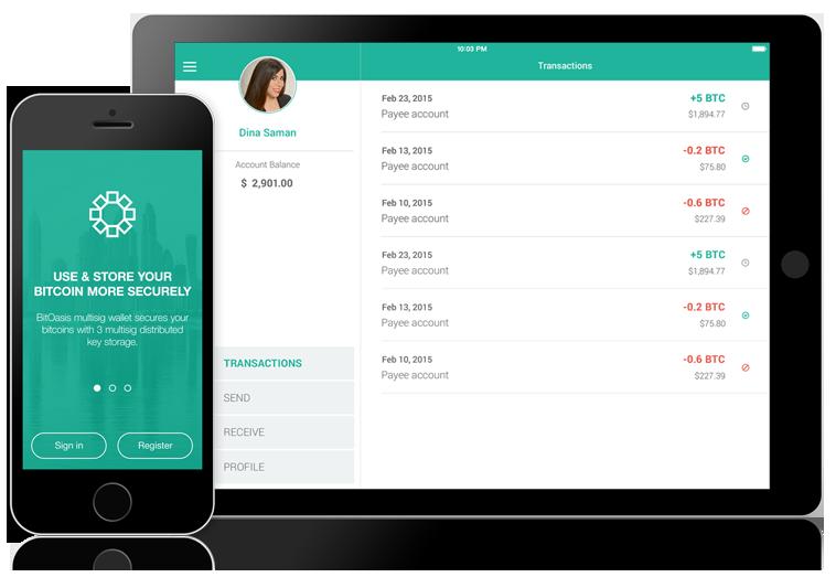 BitOasis platform