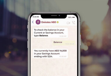 Banking is Now Just a WhatsApp Away for Emirates NBD Customers