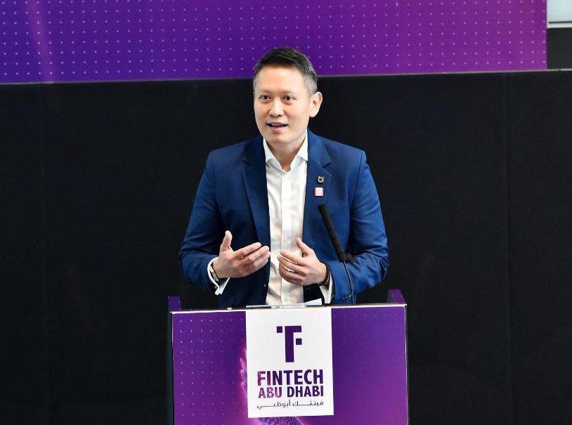 Richard Teng- Fintech Abu Dhabi 2019