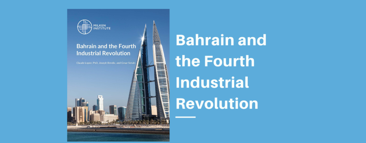 Report Highlights Bahrain's Progress Toward Becoming a Tech and Innovation Hub