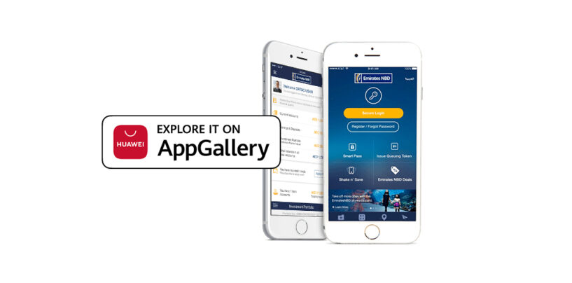 Emirates NBD's Mobile Banking App Now Available on Huawei AppGallery