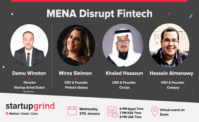 MENA Disrupt Fintech Panel