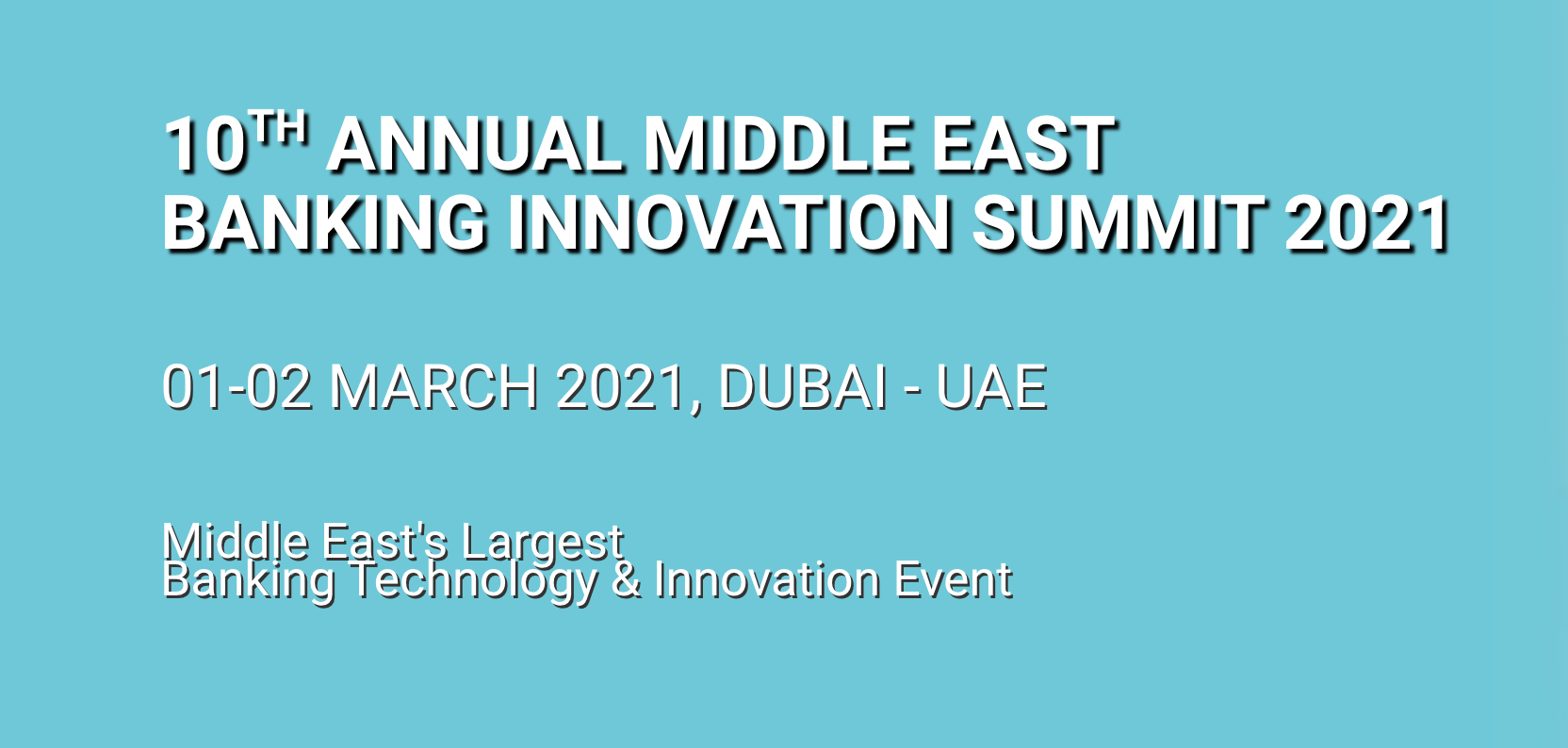 Middle East Banking Innovation Summit 2021