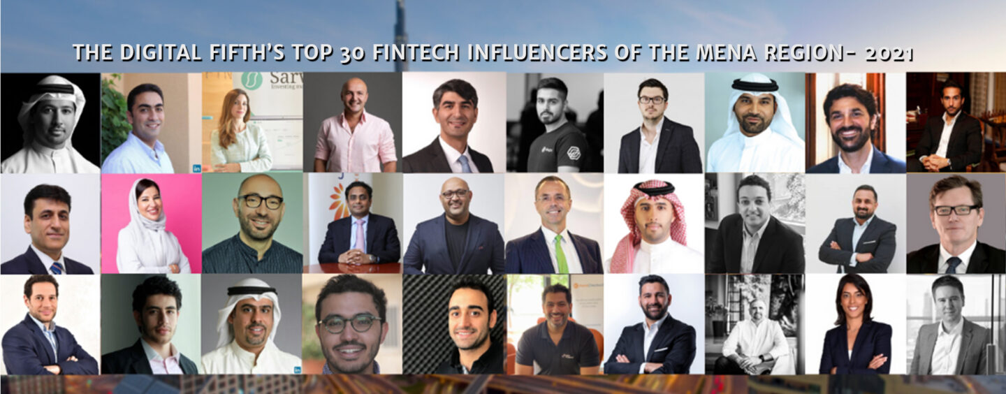 Top 30 Fintech Influencers of the MENA Region in 2021