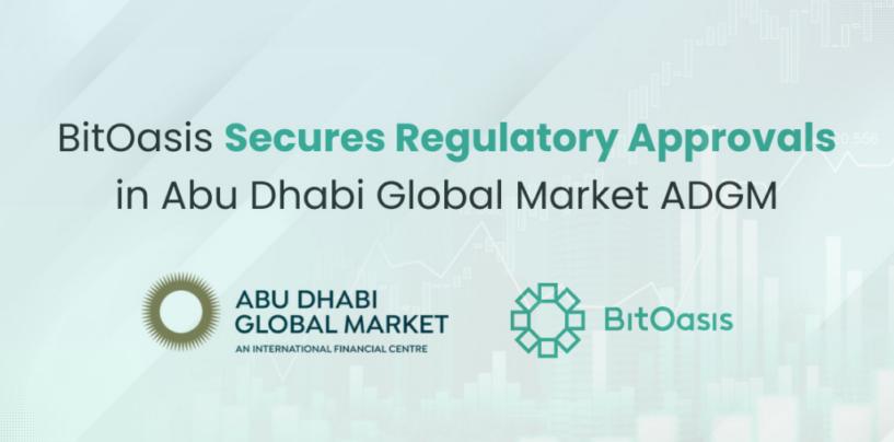 Dubai Crypto Firm BitOasis Secures Regulatory Approvals from ADGM