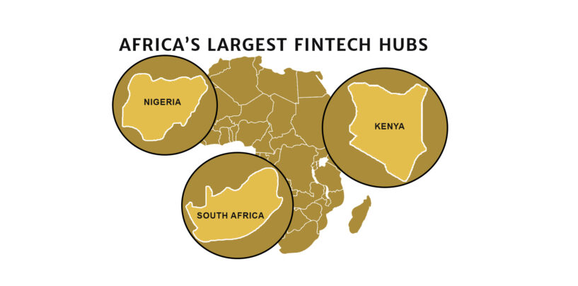 South Africa, Nigeria and Kenya: Africa's Largest Fintech Hubs
